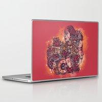 inner demons Laptop & iPad Skins featuring Inner Inhabitants by Kristoval