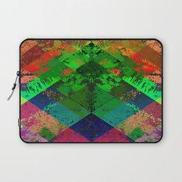 Beauty In Symmetry - Abstract, geometric, textured, symmetrical artwork Laptop Sleeve