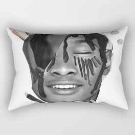 The Thought of Touch Rectangular Pillow