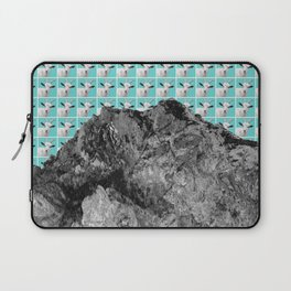 Goats over the mountain Laptop Sleeve