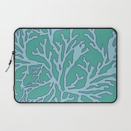 coral aqua Laptop Sleeve