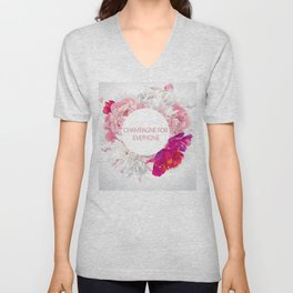 Champagne for everyone Unisex V-Neck