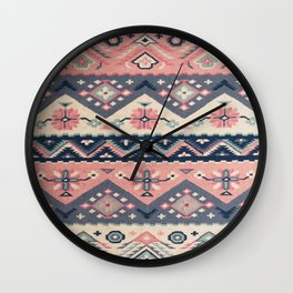 -A23- Epic Anthropologie Traditional Moroccan Artwork. Wall Clock