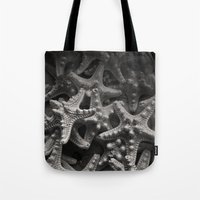 starfish Tote Bags featuring Starfish by Melissa Batchelder Photography