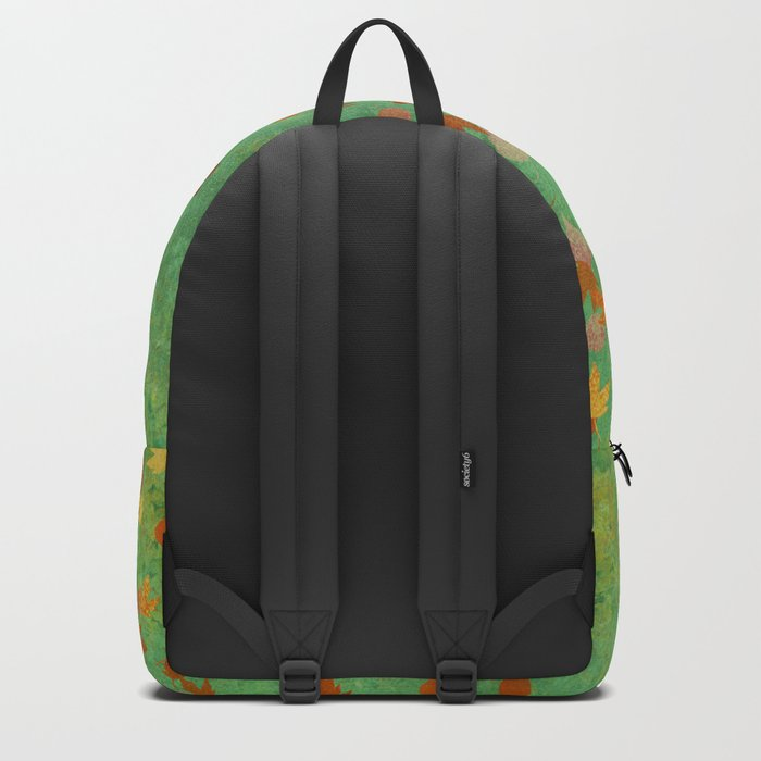 My favourite colour: OCTOBER - Indian Summer - Gold autumnal leaves Backpack