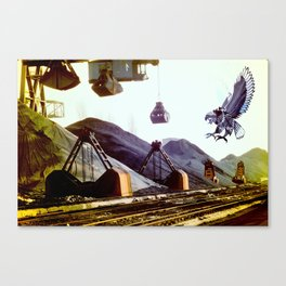 Ravage Canvas Print