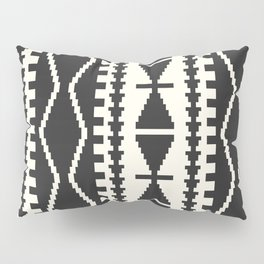 Corum in Black and White Pillow Sham