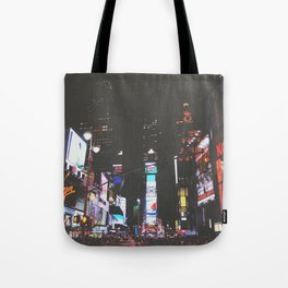 Evening Glow - Times Square Tote Bag