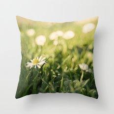flower Margarita Throw Pillow