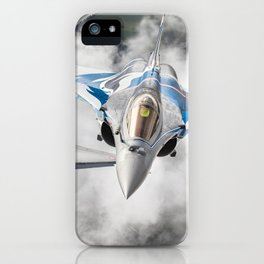 French Dassault Rafale formation iPhone Case