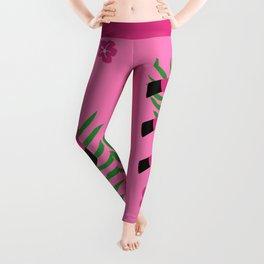 Whimsical Flamingo Leggings