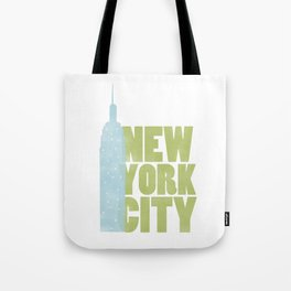New York City - Empire State Tote Bag