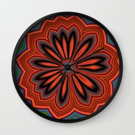 Floral message #1 Wall Clock