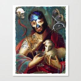 Santo Sangre Canvas Print