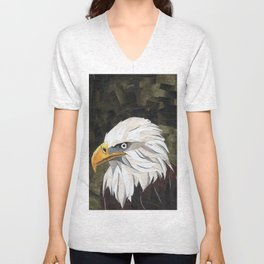 Eagle! Unisex V-Neck