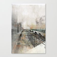 Paris d'avenir 3 Canvas Print