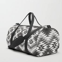 New Mexico in Black and White Duffle Bag