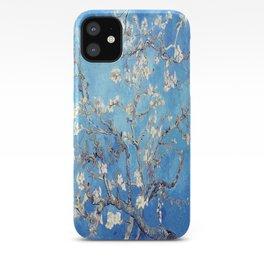 Vincent Van Gogh Almond Blossoms. Sky Blue iPhone Case