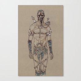 Post Apocalyptic Warrior Canvas Print