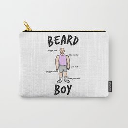 Beard Boy: Gym Kit Carry-All Pouch