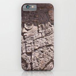 Ancient Alien at Chichen Itza iPhone Case