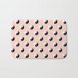 Yin Yang Eye Pattern Bath Mat