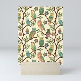 Owls Mini Art Print