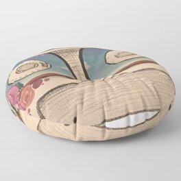 Natural Technology - vintage Floor Pillow