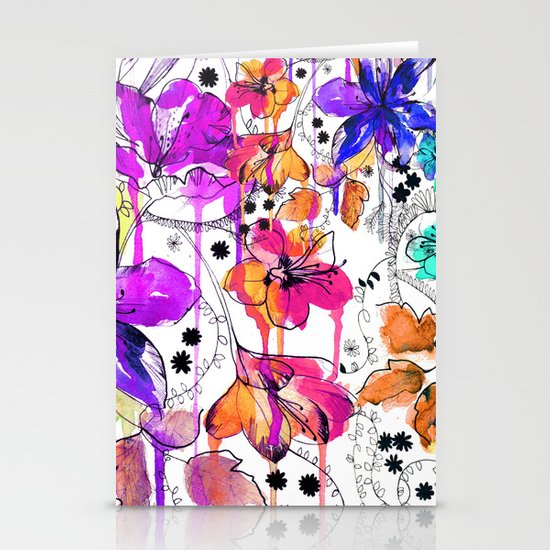 Lost in Botanica Stationery Cards