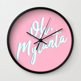Oh, Mylanta Wall Clock