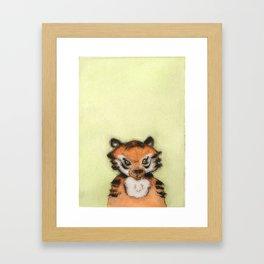 Little Tiger Framed Art Print