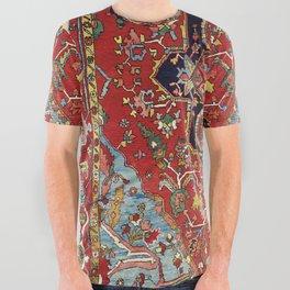 Heriz  Antique Persian Rug Print All Over Graphic Tee