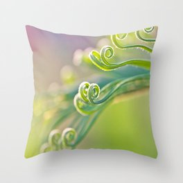 Unspoiled Throw Pillow
