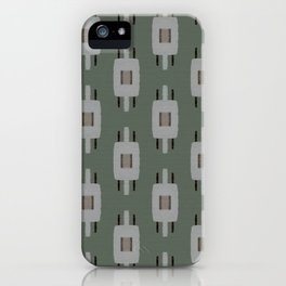 TAMAS DUSTY GREEN iPhone Case