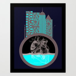 Heart of the City Art Print