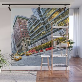 New York Street Scene Wall Mural