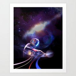 Space DJ. ver2  Art Print