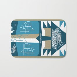 A Viking History No. 2 Bath Mat