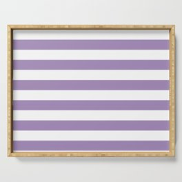 lavender stairs Serving Tray