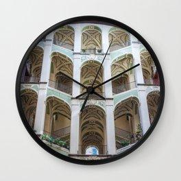 Palazzo Sanfelice, Naples, Italy Wall Clock
