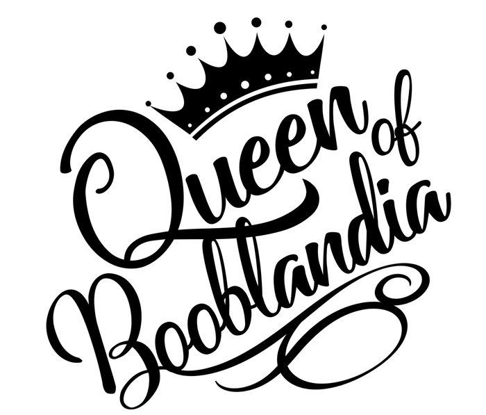 Queen of Booblandia Metal Travel Mug