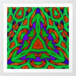 Sulcus II Art Print