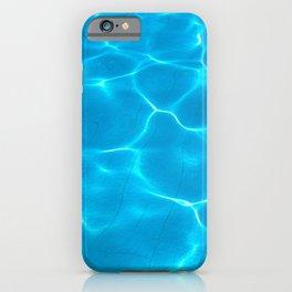 Azure Swimming pool iPhone Case