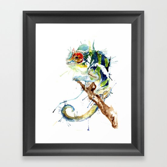 My Chameleon Framed Art Print