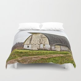 Wisconsin Old Barn 1 Duvet Cover