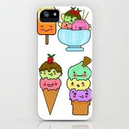 Summer Ice Cream iPhone Case