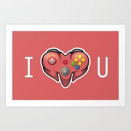 I N64 YOU Art Print