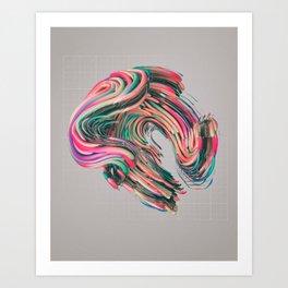 VIVE.02 (everyday 09.01.16) Art Print