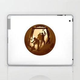 Miners (Mineurs) Laptop & iPad Skin
