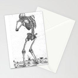 Vintage - Sobbing Skeleton Stationery Cards